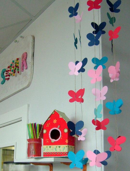Decoraci n para primavera preescolar imagui - Ideas para cortinas infantiles ...